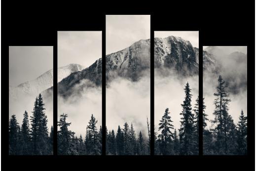 Модульная картина Гора