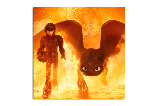 Постер Как приручить дракона 3